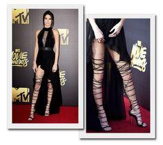 Como usar botas e gladiadoras over-the-knee? Inspire-se em Kendall Jenner!