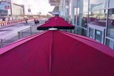Costa Coffee Birmingham Airport - Giant Umbrellas - Here at Shades of Comfort we specialise in outdoor furniture for companies, including giant umbrellas, terrace screens and much more. Birmingham Airport, Costa Coffee, Umbrellas, Case Study, Outdoor Gear, Terrace, Tent, Website, Live