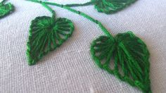 Wonderful Ribbon Embroidery Flowers by Hand Ideas. Enchanting Ribbon Embroidery Flowers by Hand Ideas. Hand Embroidery Flower Designs, Embroidery Leaf, Embroidery Stitches Tutorial, Hand Embroidery Patterns, Embroidery Techniques, Machine Embroidery, Embroidery Books, Embroidery Tattoo, Embroidery Monogram