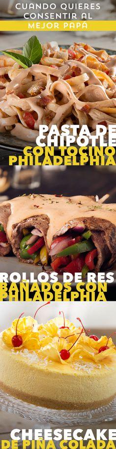 Para tu papá no habrá mejor regalo que sorprenderlo con el sabor de estas recetas con Philadelphia. #recetas #receta #quesophiladelphia #philadelphia #quesocrema #queso #comida #cocinar #cocinamexicana #recetasfáciles #recetasPhiladelphia #recetasdecocina #comer #pasta #carne #res #cheesecake #piñacolada #tocino #chipotle ¡Cocina las mejores recetas de botanas para botanear con tus amigos durante tu partido favorito del súper bowl! ¡Apoya a tu equipo favorito de futbol americano de la NFL con cualquiera de estas recetas de cocina!