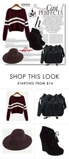 """""""ROMWE 6/X"""" by belmina-v ❤ liked on Polyvore featuring Whiteley and Jessica Simpson"""