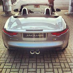 Jaguar F-Type rear view nice!