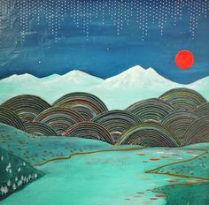 Cathy McMurray -  Red Moon