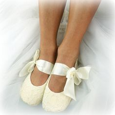 5caffee0759b Items similar to Champagne Ballet Shoes Lace Ballet Flats Ivory Ballet  Slippers Wedding Ballet Shoes Ivory Bridal Flats Shoes on Etsy