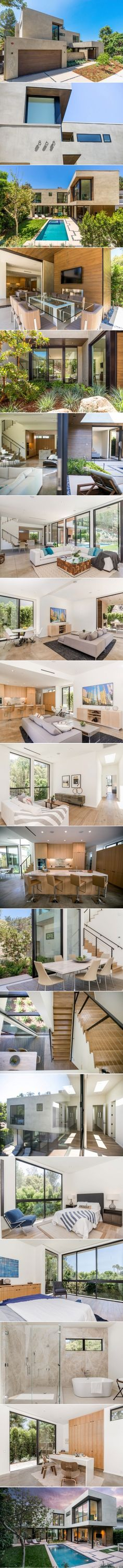A Light-Filled Home Goes For Sale in Los Angeles, California | HomeDSGN