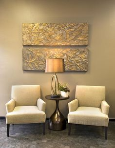 West Georgia Commercial Interior Designs - similar reception colors. Clean lines, elegant styling.