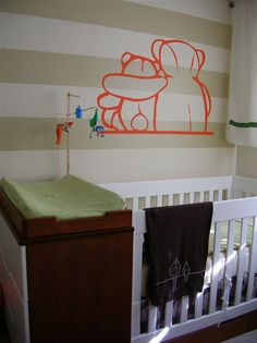 When your room is the baby's room.