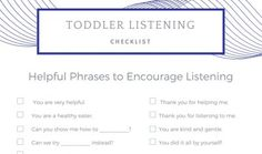 Because who doesn't want their toddler to listen well? 10 strategies parents can use to improve toddler listening and make some days a little less frustrating. For me, it is totally worth it!