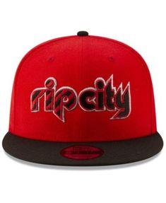 0ec4b5ab050 New Era Portland Trail Blazers Light City Combo 9FIFTY Snapback Cap - Red  Black Adjustable