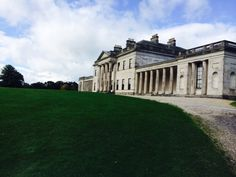 This is castle Coole house which we went around on a little tour!
