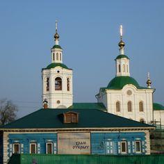 city, church
