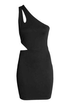 One-shoulder dress   H&M