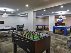 Game room galore! This Turks and Caicos vacation rental has everything you need! #Travel