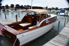 Classic Antique Wooden Boats For Sale | Pb656 | Port Carling Boats