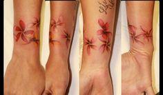 realistic tattoo #hibiscus tattoo #flowers tattoo