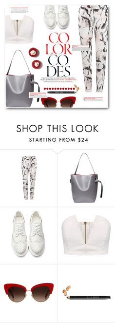 """""""If you get what i get, what would you say?"""" by sunshineb ❤ liked on Polyvore featuring Dolce&Gabbana, Bobbi Brown Cosmetics, vintage, yoins and loveyoins"""