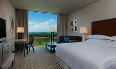 vista do quarto do hotel sheraton reserva do paiva