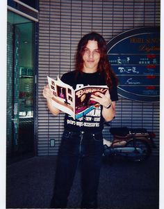 Chuck Schuldiner, one of my favorite artists of all time. Though now passed, his music will live on forever.  This photo was taken from the Death(Official) page on Facebook.