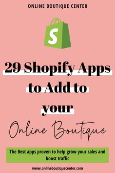 Get the best of Shopify apps with this curated list dedicated to Shopify boutique owners. These apps will help you get more sales and boost your traffic. Get top-notch tools that help you build a business empire. Some of the same apps that are used by top online stores such as Fashion Nova. Seo Guide, Cool Captions, Custom Packaging, Best Apps, Growing Your Business, Email Marketing, Online Boutiques, Nova, Empire