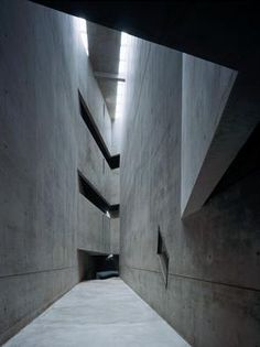 The Jewish Museum, Berlin.   Designed by Daniel Libeskind