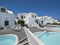 Municipality of Thira   apartment   rental   - Aura Marina pool and terrace