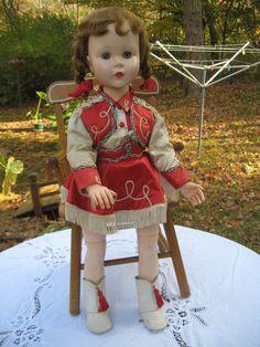 Annie Oakley Sweet Sue Doll by American by LindasLovelyDolls..