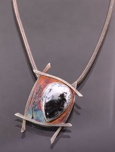ColorfulTreescapePendant by Mystical Mythical Metalwork