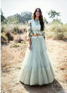 Buy beautiful Designer fully custom made bridal lehenga choli and party wear lehenga choli on Beautiful Latest Designs available in all comfortable price range.Buy Designer Collection Online : Call/ WhatsApp us on : Indian Gowns, Indian Attire, Indian Wear, Indian Outfits, Lehenga Choli Designs, Lehenga Designs Simple, Lehenga Style, Lehenga Skirt, Green Lehenga