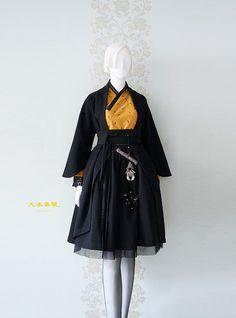 2017 천의소창의3.0 大공개합니다~♡ ※ 천의무봉한복의 모든 작품은 소량 한정품으로 조기 품절될 수 있습... Korean Dress, Korean Outfits, Japanese Fashion, Asian Fashion, Lolita Mode, Dress Outfits, Fashion Outfits, Diy Mode, Frack