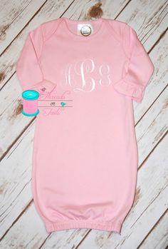 Monogrammed baby gown baby gown monogrammed baby gifts monogrammed baby gown baby gown monogrammed baby gifts monogrammed baby items personalized baby items personalized gown negle Gallery