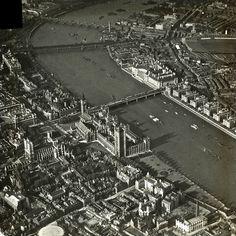 Aerial Views Of Old London | Spitalfields Life
