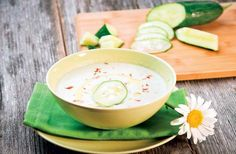 If you are looking for a quick, easy and super refreshing meal idea for a crazy hot summer day, look no further, Cold Cucumber Soup is the perfect choice!