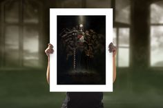 Rise of the Reaper General Fine Art Print by Vincent Proce | Sideshow Fine Art Prints Embossed Seal, Sideshow Collectibles, Paper Frames, Dark Fantasy, Clear Acrylic, Giclee Print, Fine Art Prints, Painting, Art Prints