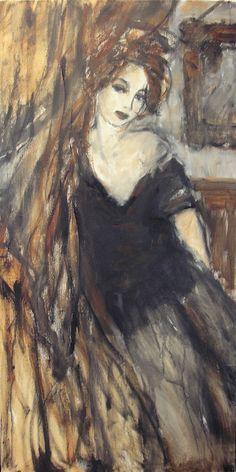 Centraal in de kunst van Elles Porck staat de vrouw en haar emoties. Zij schildert haar acryl- en olieverfschilderijen op een moderne, impressionistische wijze.