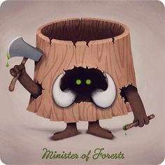 Minister of Forests by Antony Squizzato
