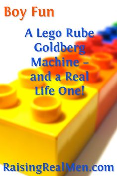 An absolutely amazing Lego Creation that really works  and a real life amazing machine. Fun for boys!