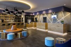 The K-Best Western Hotel by Kitzig Interior Design  Architecture Group Munich…