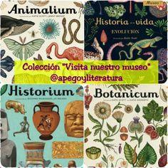 """Apego, Literatura y Materiales respetuosos: Colección """"Visita nuestro museo"""" (""""Animalium"""", """"Historium"""" y más)"""