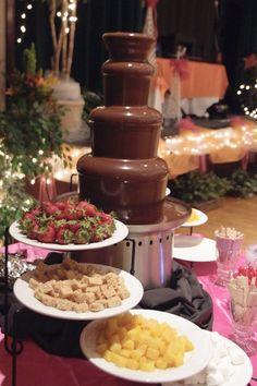 ^^ Chocolate Fountain