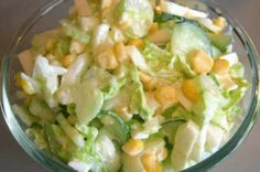 Gesunder Salat mit Chinakohl i… On this page you will find a nice recipe. Healthy salad with Chinese cabbage is delicious and makes it easy and fast. Top Salad Recipe, Salad Recipes, Vegetarian Recipes, Cooking Recipes, Healthy Recipes, Healthy Salads, Healthy Eating, Cabbage Salad, Vegan Appetizers