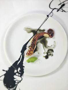 Chef Yann Bernard Lejard - octopus.