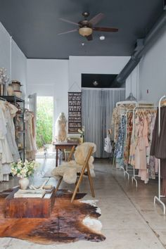 Adored Vintage Showroom in Long Beach Workspace Tour   Apartment Therapy