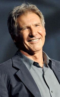 Harrison Ford- He was adorable as Hans Solo in Star Wars, captivating as Indiana Jones, and convincing as president in Air Force One. From the to today, Ford has attracted audiences with his talent and charisma. Harrison Ford, Indiana Jones, Pokerface, Look Man, Celebrity Gallery, Good Looking Men, Famous Faces, Hollywood Stars, American Actors