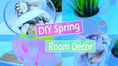 DIY Spring room decor!\ Украшение комнаты к весне \ 2016