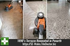 A fine example of what can be achieved restoring old Terrazzo flooring. The work took place earlier this year in the Kitchen of a Church Vestry in Penarth where the floor dated back to the Victorian 1890's. SE-wales.tiledoctor.biz/renovating-an-1890s-terrazzo-floor-at-a-church-vestry-in-penarth Popular Holiday Destinations, Terrazzo Flooring, Seaside Resort, The Orator, Deep Cleaning, Over The Years, Restoration, How To Apply, Wales