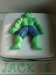 hulk cake by jayne8170, via Flickr