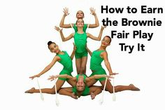 Brownie Girl Scout Meeting Plans for the Fair P)lay Try It