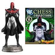 DC Superhero Red Hood Black Pawn Chess Piece with Magazine