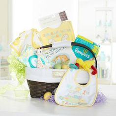 """Make this holiday special with amazing Easter basket ideas for kids from Toys""""R""""Us. Browse Easter basket ideas for toddlers and big kids in this fun selection. Baby's First Easter Basket, Easter Baskets, Hoppy Easter, Easter Bunny, Easter 2018, Easter Celebration, Blog, Easter Crafts, Baby Pictures"""