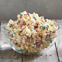 Holiday Popcorn Crunch Bark
